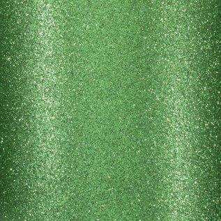 Florence • Glitter papier zelfklevend DONKER GROEN