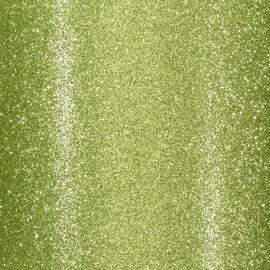 Florence • Glitter papier zelfklevend LICHT GROEN