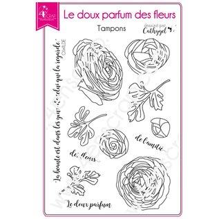 4enscrap DE ZACHTE GEUR VAN BLOEMEN - LE DOUX PARFUM DES FLEURS