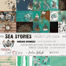 Craft O' Clock SEA STORIES - A SET OF PROJECT LIFE CARDS