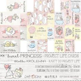 Craft O' Clock SWEET PRINCESS - A SET OF PROJECT LIFE CARDS