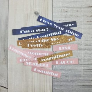 Craft O' Clock BOLD & GLAMOUR - DIE - CUTS QUOTES