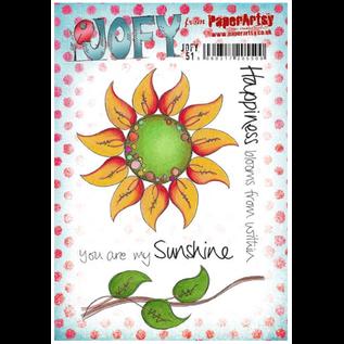 Paper Artsy JOFY51 (A5 set, trimmed, on EZ)