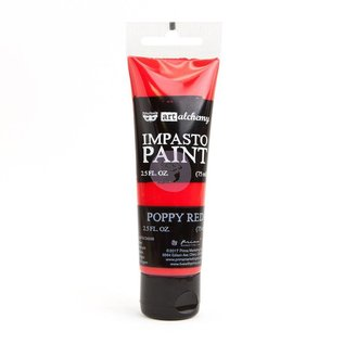 PRIMA MARKETING Art Alchemy Impasto Paint Poppy Red