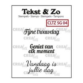 CreaLies Crealies Tekst & Zo NL tekst stempel speciale gelegenheden 4