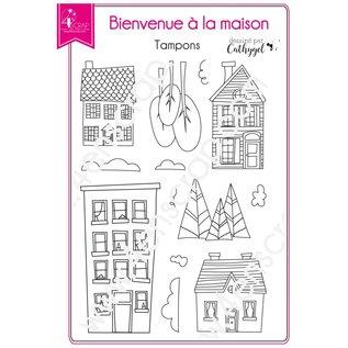 4enscrap WELKOM THUIS - BIENVENUE A LA MAISON