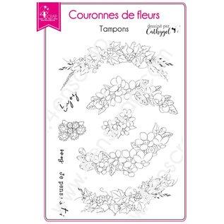 4enscrap BLOEMENKRANS - COURONNES DE FLEURS