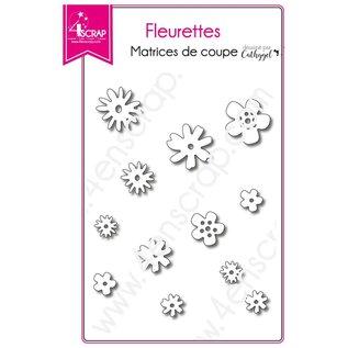 4enscrap BLOEMETJES - FLEURETTES