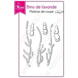 4enscrap LAVENDEL TAKJES - BRINS DE LAVANDE