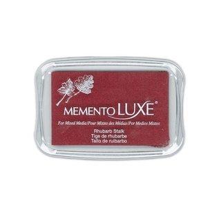Memento Luxe Ink Pad RHUBARB STALK