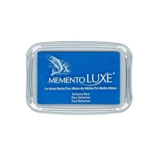 Memento Luxe Ink Pad BAHAMA BLUE