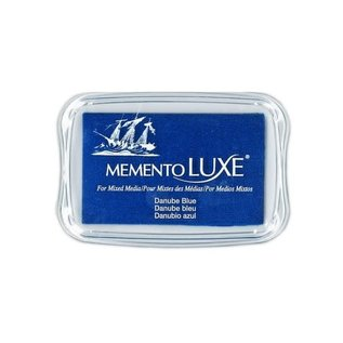 Memento Luxe Ink Pad DANUBE BLUE