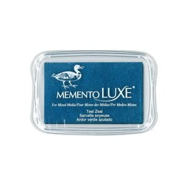 Memento Luxe Ink Pad TEAL ZEAL