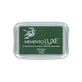 Memento Luxe Ink Pad OLIVE GROOVE
