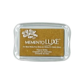 Memento Luxe Ink Pad PEANUT BRITTLE