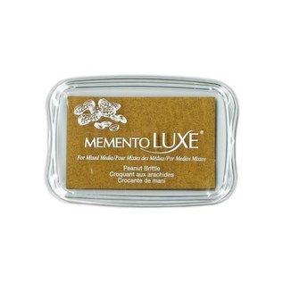 Memento Luxe Ink Pad PEANUT BRITTLE