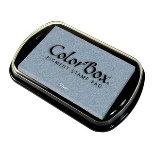 ColorBox Metallic Pigment Ink Pad silver