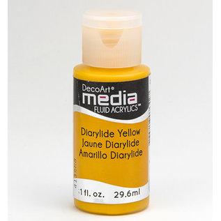 DecoArt Media DIARLYDE YELLOW