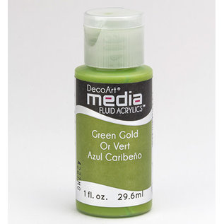 DecoArt Media GREEN GOLD