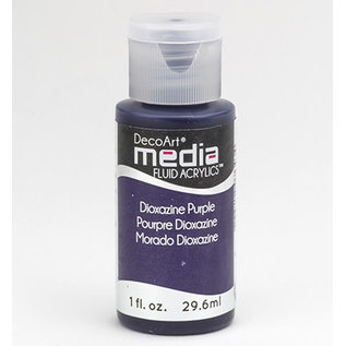 DecoArt Media DIOXAZINE PURPLE