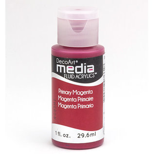DecoArt Media PRIMARY MAGENTA