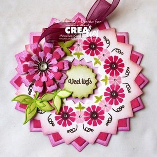 CreaLies Crealies Bits & Pieces stempel no.141 mini bloemen 18