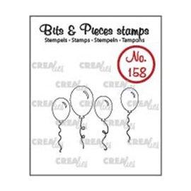 CreaLies Crealies Bits & Pieces stempel no.158 ballonnen omlijning