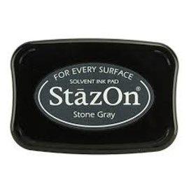 Tsukineko Stazon inkpad STONE GREY
