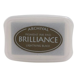 ARCHIVAL Brilliance Pigment Ink Pad Pearlescent Lightning Black