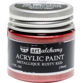 Art Alchemy Art Alchemy Acrylic Paint Metallique Rusty Red