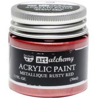 Art Alchemy Art Alchemy Acrylic Paint Metallique Rusty Red