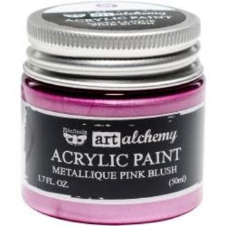 Art Alchemy Art Alchemy Acrylic Paint Metallique Pink Blush