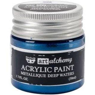 Art Alchemy Art Alchemy Acrylic Paint Metallique Deep Waters