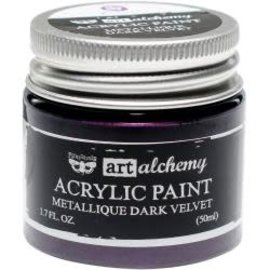 Art Alchemy Art Alchemy Acrylic Paint Metallique Dark Velvet