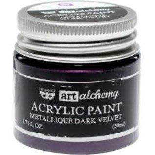 Art Alchemy Art Alchemy Acrylic Paint Metallique Dark Velvet