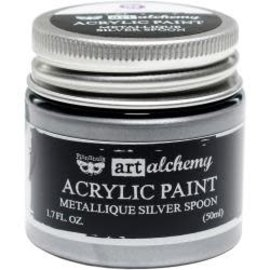 Art Alchemy Art Alchemy Acrylic Paint Metallique Silver Spoon