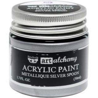 Art Alchemy Art Alchemy Acrylic Paint Metallique Silver Spoon