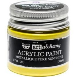 Art Alchemy Art Alchemy Acrylic Paint Metallique Pure Sunshine
