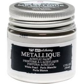 Art Alchemy Art Alchemy Acrylic Paint Metallique White Pearl