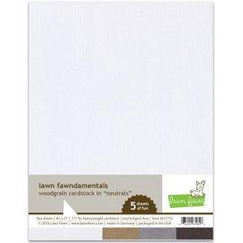 Lawn Fawn woodgrain cardstock - neutrals