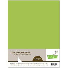 Lawn Fawn cilantro cardstock