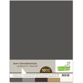 Lawn Fawn neutral pack cardstock