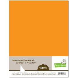 Lawn Fawn fake tan cardstock