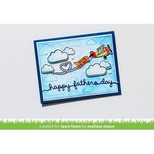 Lawn Fawn father's day border
