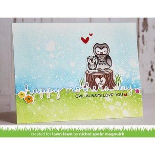 Lawn Fawn mother's day border