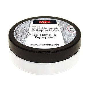 Viva 3-D STEMPELVERF WHITE