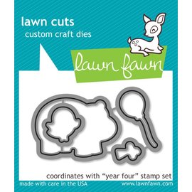 Lawn Fawn year four - lawn cuts