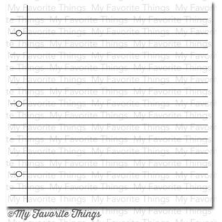 My Favourite Things Notebook paper background