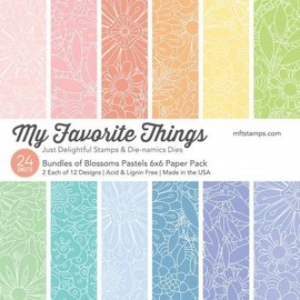 My Favourite Things Bundles of blossoms pastels