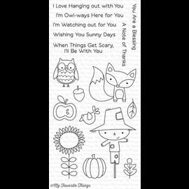 My Favourite Things Fall friends stempel